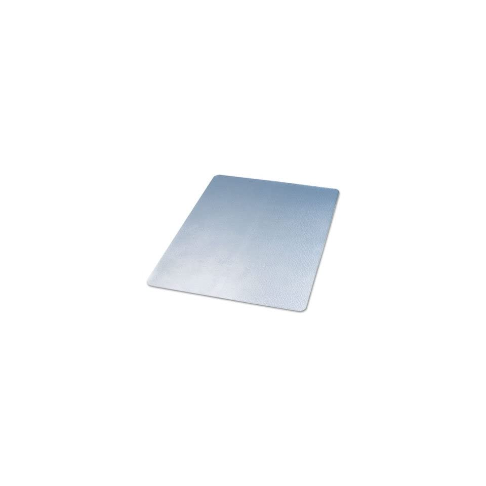 Rectangular PVC Chair Mat for Hard Floors   Clear 36 X 48 Inches 2.0mm