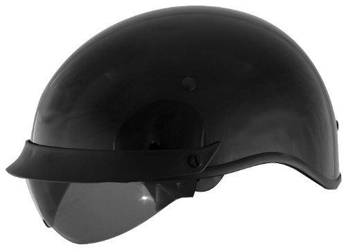 Cyber Helmets U-72 Solid Helmet , Helmet Type: Half Helmets, Helmet Category: Street, Distinct Name: Black, Primary Color: Black, Size: XS, Gender: Mens/Unisex 640830