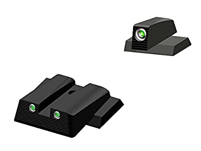 HIVIZ MPSN121 Smith & Wesson NITESIGHT Front and Rear Handgun Sight Set by HIVIZ