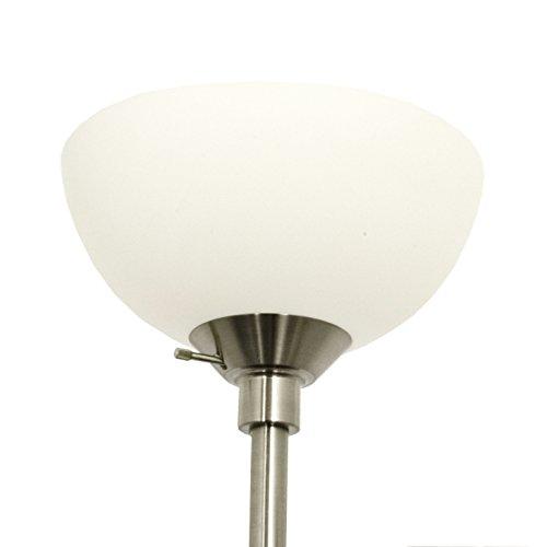 Light accents 150 watt metal floor lamp with side reading for 150 watt floor lamp