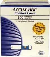 Amazon Com Accu Chek Comfort Curve 100 Ct Box Exp 01