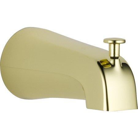 Delta Faucet U1075-PB-PK Universal Showering Components Diverter Tub Spout, Polished Brass