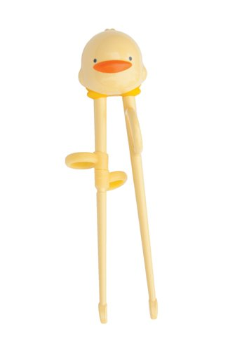 Piyo Piyo Training Chopsticks, Yellow, Large - 1