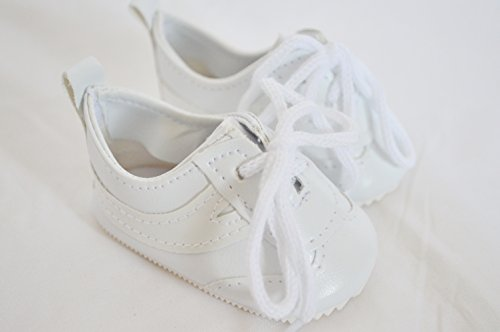 WHITE TENNIS SHOES FOR AMERICAN GIRL DOLLS