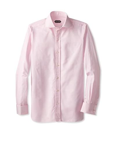 Tom Ford Men's Tonal Check Sportshirt