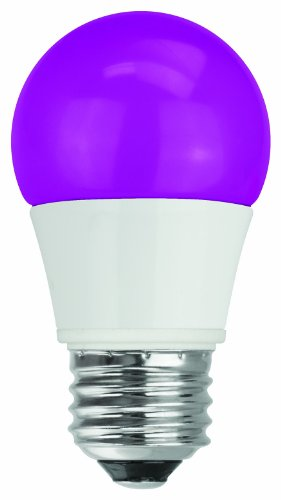 Tcp Rlas155Wpl Led A15 - 40 Watt Equivalent (5W) Purple Colored Light Bulb