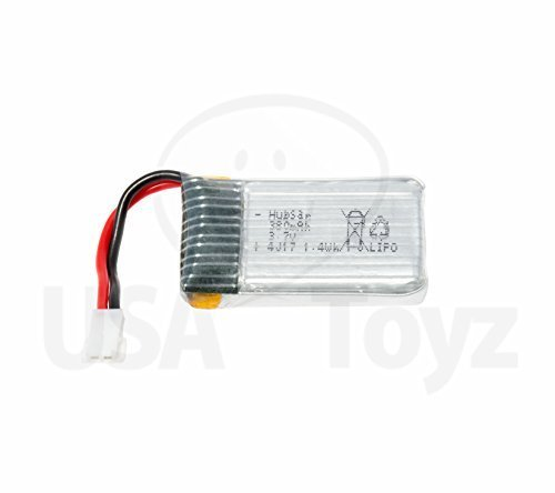 Genuine HUBSAN X4 107C Quadcopter Rechargeable Flight Battery (3.7V, 380mAh LiPo)