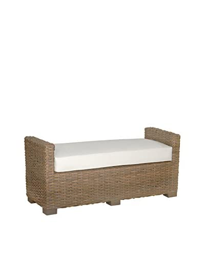 Jeffan Donna Double Bench, Natural