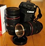 Camera Lens Mug/Lens Coffee Cup (EF 24-70mm f/4L IS USM Lens Design)