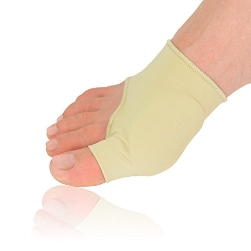 Dr. Frederick's Original Gel Pad Bunion Sleeves - 2 Booties for Bunion Relief Before and After Bunion Surgery - Wear with Shoes - Large - W7-14 | M5-13 (Surgical Ice Machine compare prices)