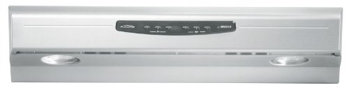 Broan Qs230Ss Allure Ii 30-Inch Under-Cabinet Range Hood, Stainless Steel