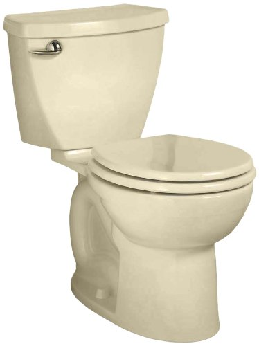 American Standard Cadet 3 Right Height Round Front Flowise Two-Piece High Efficiency Toilet With 10-Inch Rough-In, Bone Bone front-751934