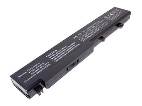 11.10V,4800mAh,Li-ion,Replacement Laptop Battery for Dell Vostro 1710, 1720, Compatible Part Numbers: 312-0740, 312-0894, 451-10611, P721C, P722C, T117C