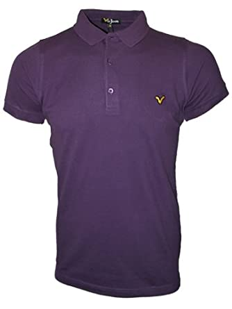 New Mens Blackberry VOI Jeans Redford Aw12 Designer Ribbed Polo Neck T-Shirt Top 3XL