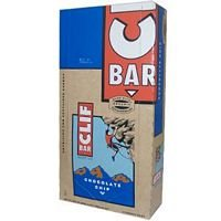 Clif Bar Energy Bar, Chocolate Chip, 2.4-ounce Bars,