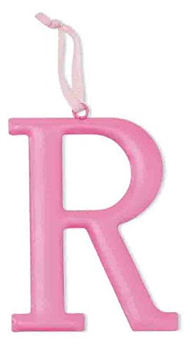 Mud Pie Metal Initial Wall Hanging, R, Large - 1
