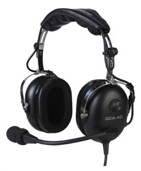 Gulf Coast Avionics Gca-4G Premium Pilot Aviation Headset