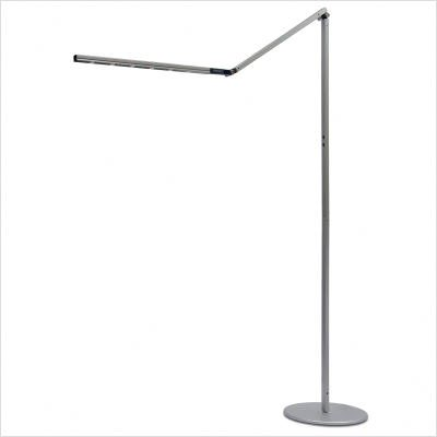 I-Tower High Power LED Floor Lamp- Silver/Cool Generation 2