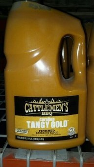 Cattlemen'S: Carolina Tangy Gold Barbecue Sauce 1 Gallon (2 Pack)