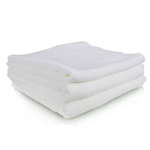 "Chemical Guys Mic_801_03 - Monster Edgeless Microfiber Towel, White 16"" X 16"" (Pack Of 3) front-517241"
