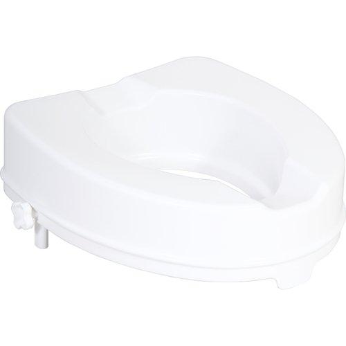 Patron ZRERHI01210200 WC-Sitzerhöhung ohne Deckel, Apollo / Ares, 10 cm