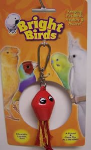 Cheap Multi Pet Bright Birds Squid 6in Small Bird Toy (300-13029)