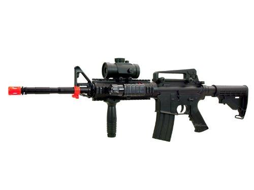 Navy Commando M-16 Full-Auto AEG Airsoft Gun