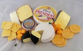 Realistic Fake Large Grouping of Cheese & Crackers, Set of 23 (Fake Cheese For Display compare prices)