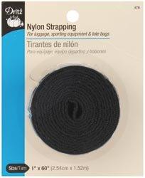 Dritz Black Nylon Strapping 1