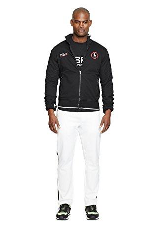Polo Sport Cotton-Blend Track Jacket (Small, Polo Black )