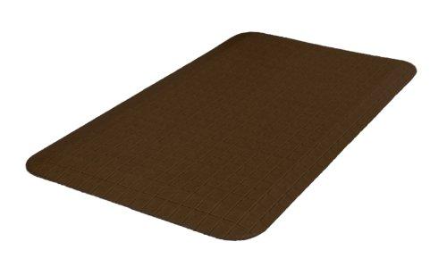 NewLife by GelPro 20-Inch by 32-Inch Trellis Designer Comfort Mat, Mocha