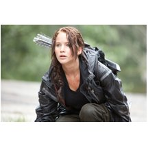 The Hunger Games Jennifer Lawrence as Katniss with Bow and Arrow 8 x 10 Photo