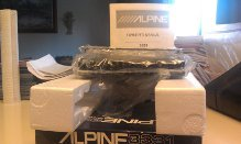Brand New Alpine Cde-134Hd Single Din In-Dash Car Audio Receiver With Hd Radio And 3 Band Parametric Equalizer