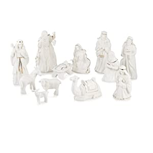 Mikasa Holiday Splendor 12-Piece Nativity Set