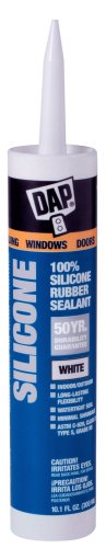 Dap 08646 Dow Corning White Silicone Sealant 10.1-Ounce