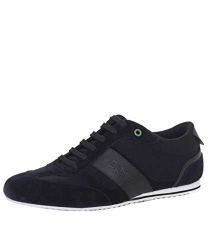Boss Green Lighter Lowp Herren Sneaker Schwarz thumbnail