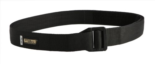 Best Price Uncle Mike's Tactical Two-Layer Nylon Reinforced Instructor's Belt (X-Large, Black)