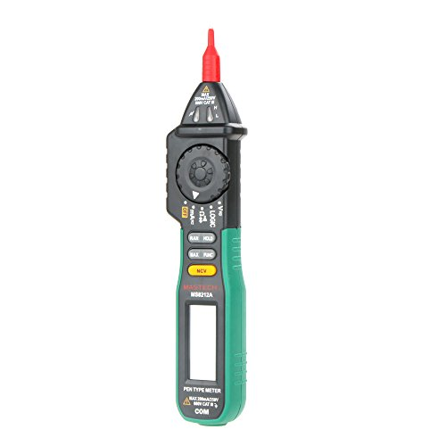 KKmoon Original MASTECH MS8212A Pen Type Digital Multimeter/Multimetro DC AC Voltage Current Tester Diode Continuity Logic Non-contact Voltage
