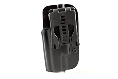 Blade-Tech OWB Gun Holster with Tek-Lok attachment (Black) (Various models and hand orientations available)