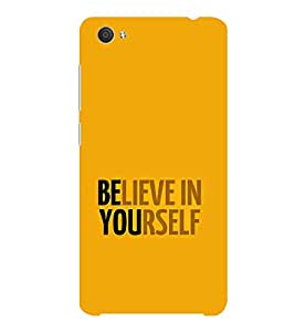 ifasho Believe in yourself Back Case Cover for VIVO X5Pro