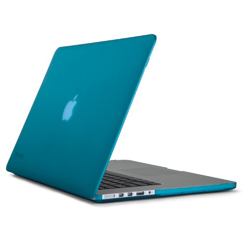 Speck Products SeeThru Satin Case for MacBook Pro Retina 15-Inch, Peacock Blue (SPK-A1503)