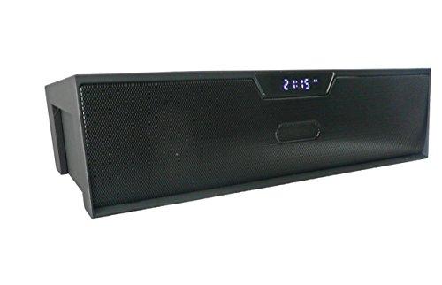 Emartbuy ® Nero SoundBox Portatile Bluetooth Senza Fili Altoparlante Con Mic Adatta Per ARK Benefit A1 / ARK Benefit A3 / ARK Benefit S451 Smartphone