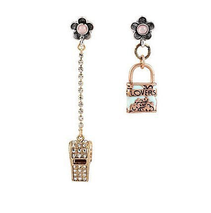 betsey-johnson-wanderlust-lock-and-whistle-mismatch-earrings-by-betsey-johnson