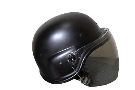US M88 ライオットシールド付き 防弾ヘルメット PASGTヘルメット フリッツヘルメット SWAT