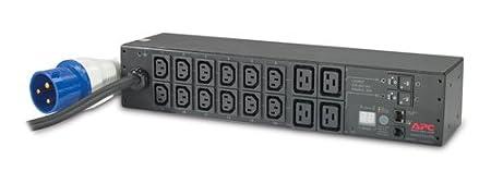 AP7822 - APC Metered Rack PDU , Eingang: 230V , Eingangsanschlußart: IEC 309 32A 2P+E , Kabellänge: 12 feet ( 3.66 Meter ) , Ausgang: 200V , Ausgangsanschlusse: IEC 320 C13,IEC 320 C19/ Rack PDU Metered 2U 32A 230V