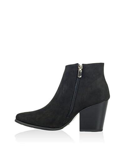 Joana & Paola Zapatos abotinados Jp-Gbx-2165A Negro EU 40