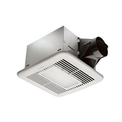 Hampton Bay 80 CFM Ceiling Exhaust Fan with LED Light and Nightlight (Led Exhaust Fan compare prices)