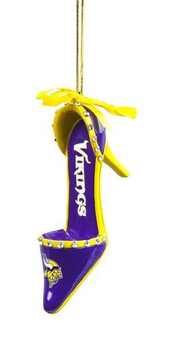 Minnesota Vikings Official NFL 3 inch x 1.5 inch Team Shoe Ornament