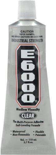E6000 Multi-Purpose Adhesive-3.7 Ounce