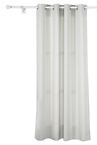 Deconovo Bedroom Oxford Solid Thermal Insulated Curtains with Backside Silver Backing to Reflect Sunlights 52 W x 95 L Beige 1 Panel (Keep The Heat In compare prices)